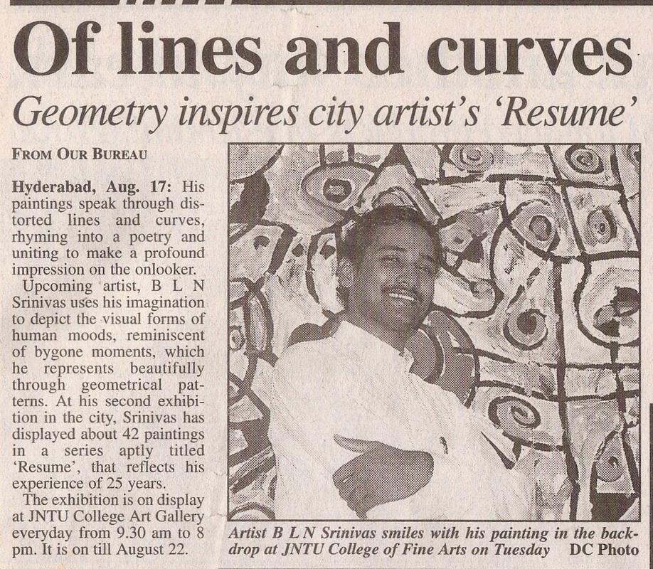Srinivas Bobbili Artist News